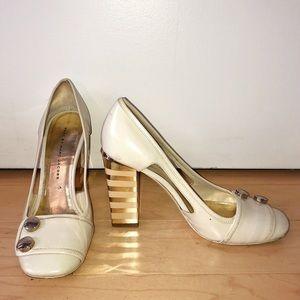 Marc Jacobs - Gold Shiny Heels